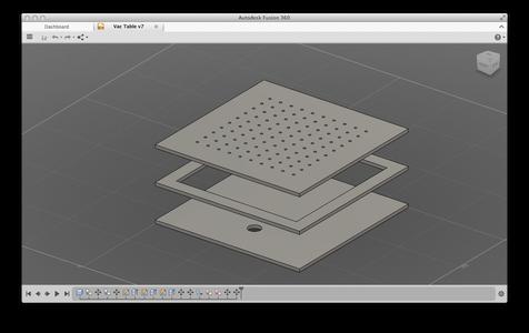 Addendum: Vacuum Form Table