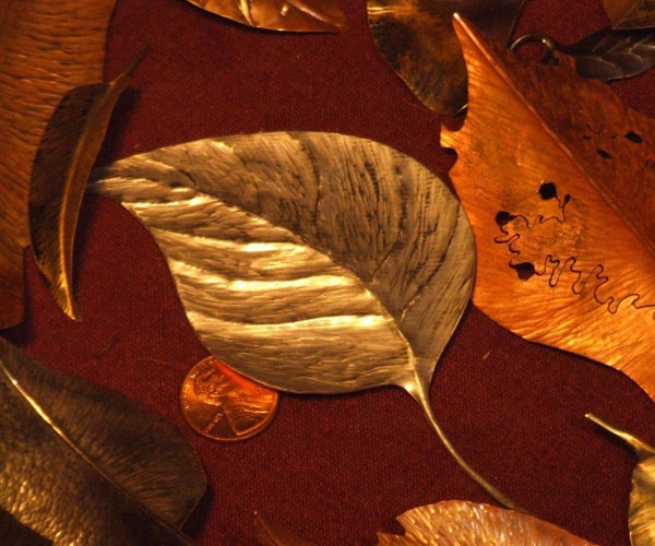 Making Metal Leaves