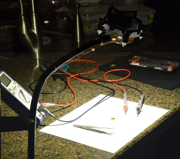 How to Make an Improbably Bright LED Task Lamp