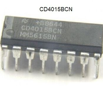 Arduino With CD4015B Shift Register