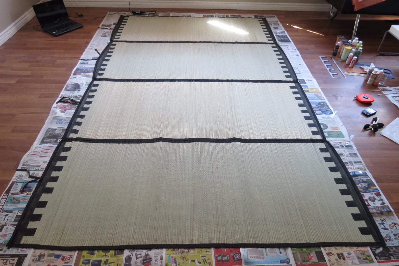 Paint a Kilim Picnic Mat