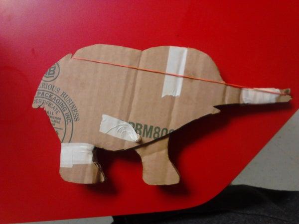 Elephant Elastic Launcher