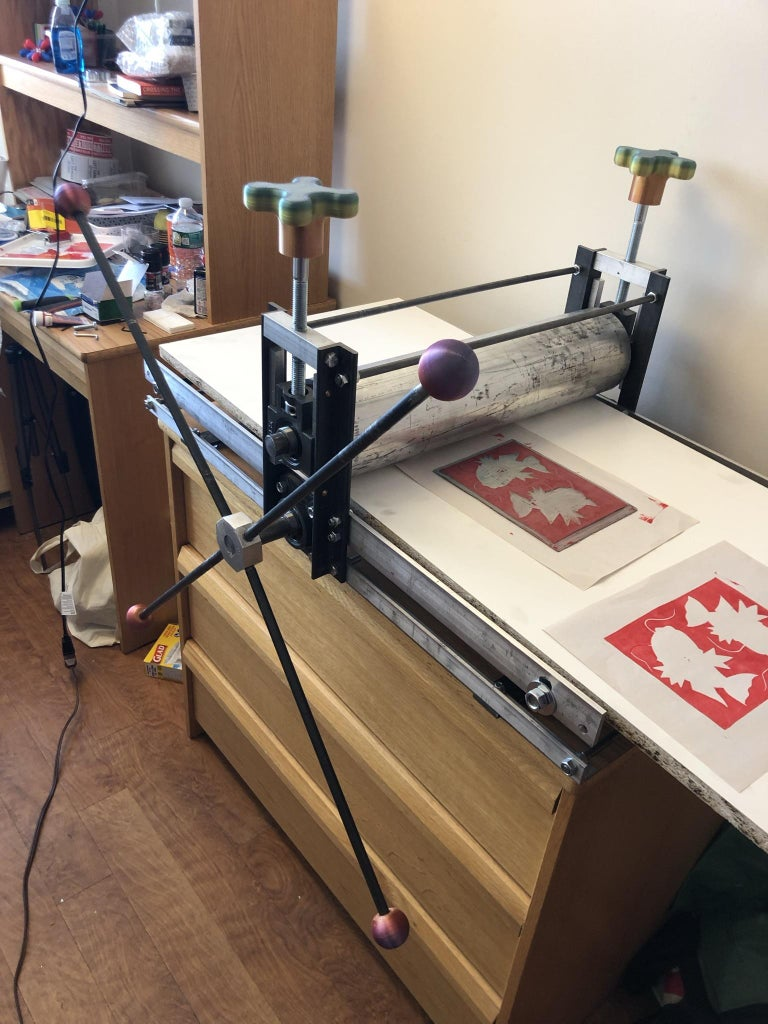 Build a Printmaking Press!