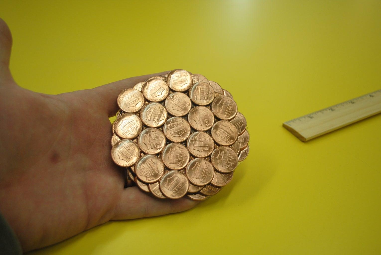 Penny Spiral Coaster
