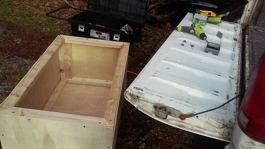 Wood Truck Box