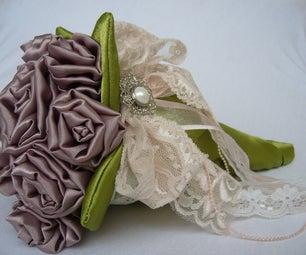 Fabric Wedding Bouquet