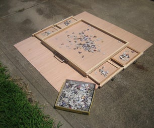 JIGSAW PUZZLE CARRYING CASE