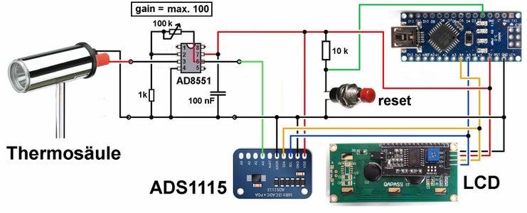 The Arduino-part
