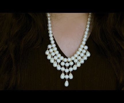 How to make necklace   DIY necklace  