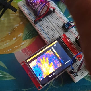 Infrared Thermal Imaging Camera With MLX90640 and ESP32 for Less Than 70 USD