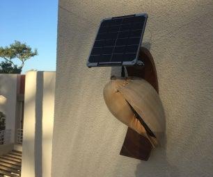 Solar Powered Conch Screamer
