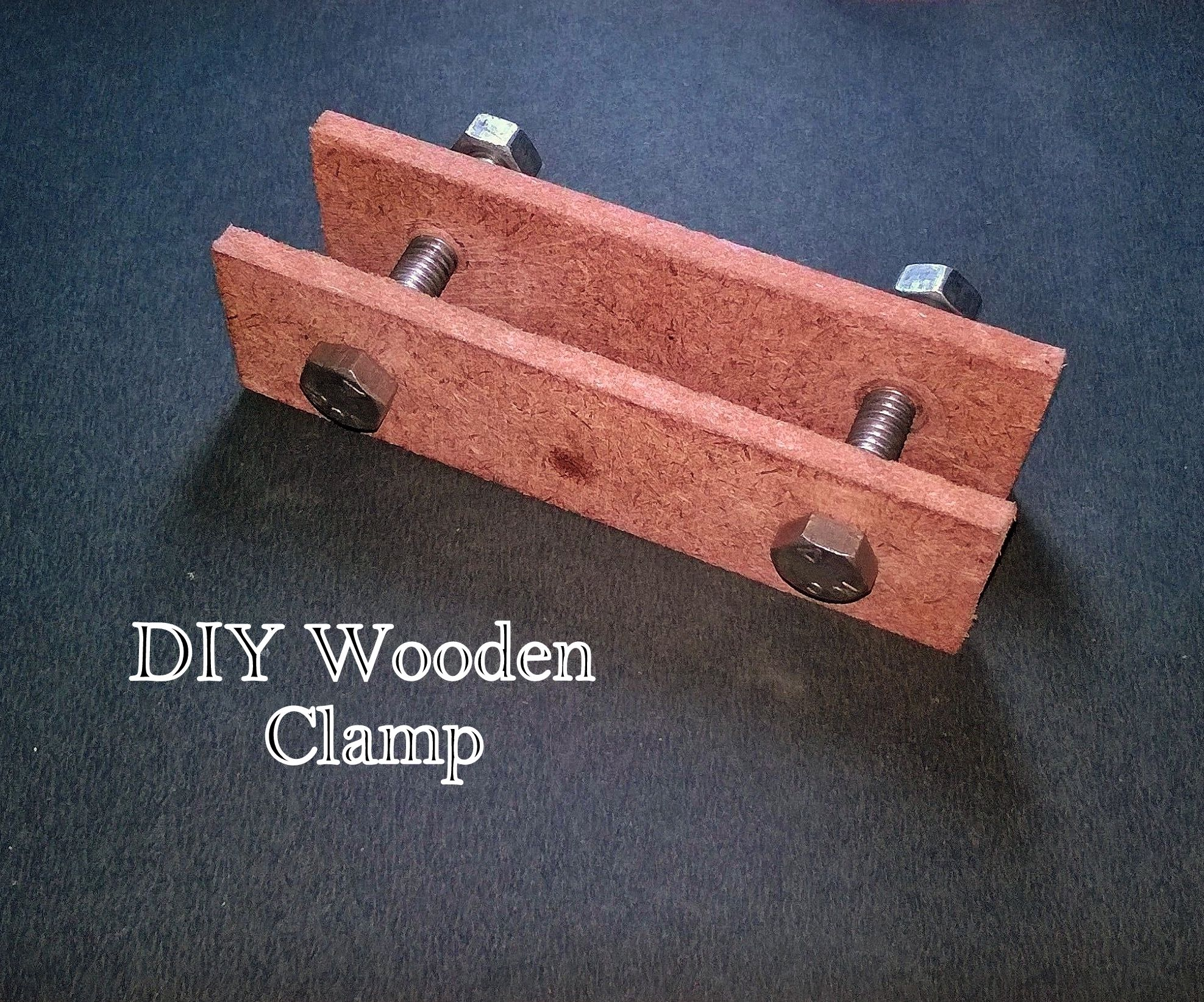 DIY Wooden Clamp