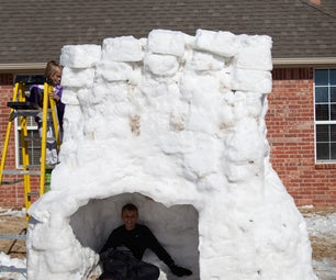 The Two Story Igloo