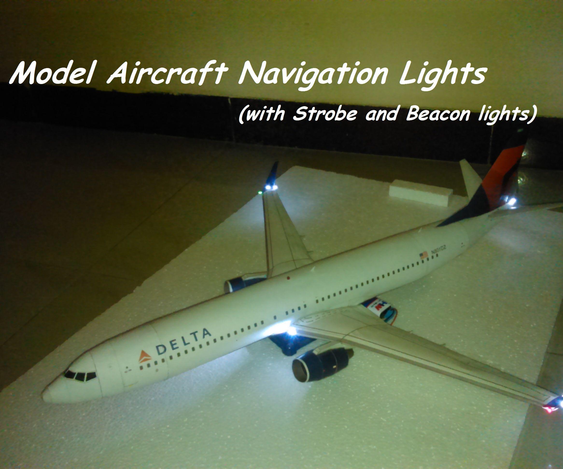 $1 Model Aircraft Navigation Lights