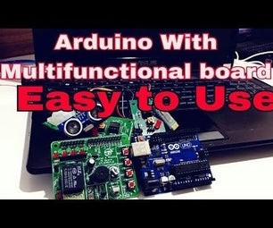 Tutorial for Arduino: Digital and Analog I/O Board Introduction | Multi-functional Board | All in One