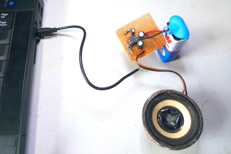 Amplifier Is Ready