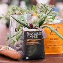 Recycle Coffee Bags Into ....table Decor...gifts... Place Markers at Events...