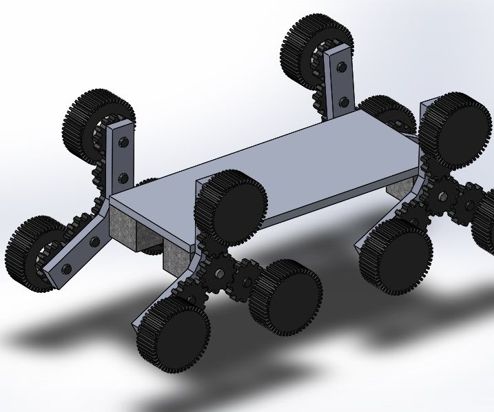 TW Hybrid Chassis