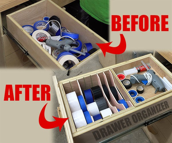 Making a Drawer Organizer for the Workshop