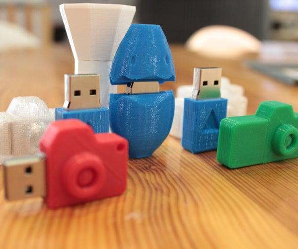 3D Printed USB Casing