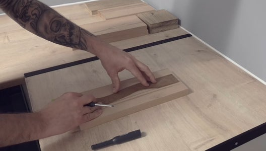 Marking Out and Cutting the Handle