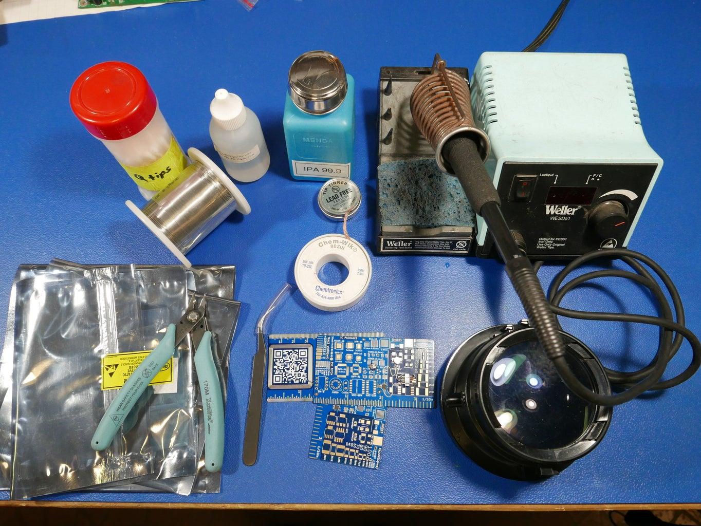 Materials & Tools Needed: