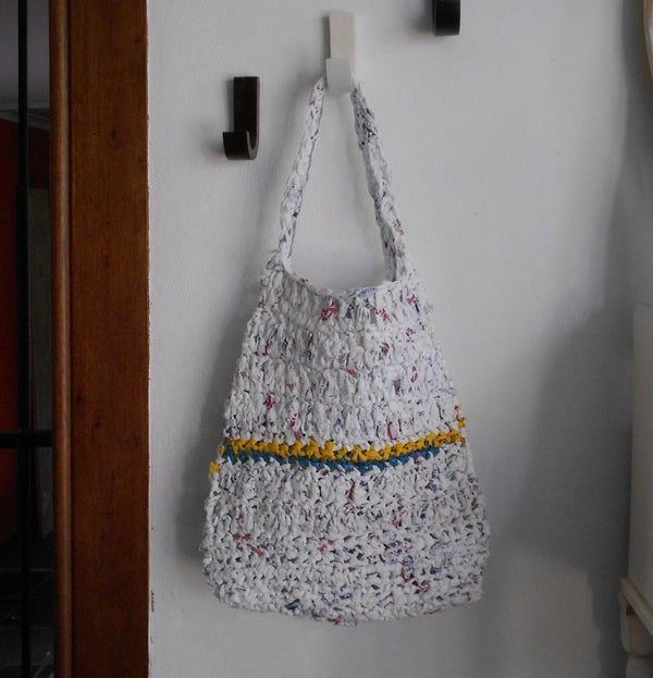 Shopping Bag From Plastic Shopping Bags