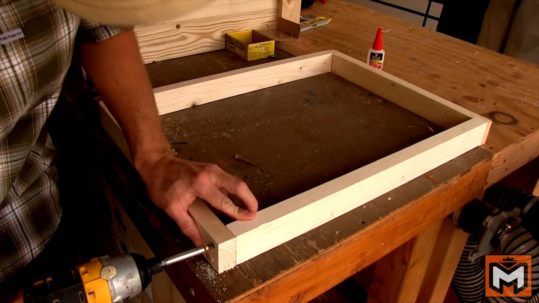 Building the Shelves