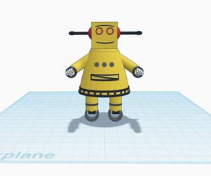 Tinkercad中的可指示机器人