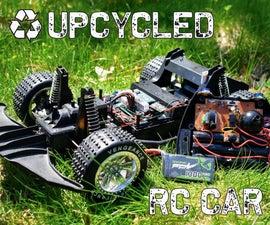 升级的rc汽车