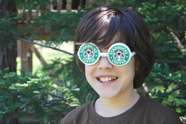 Make Goggles From Paper Coffee Cups