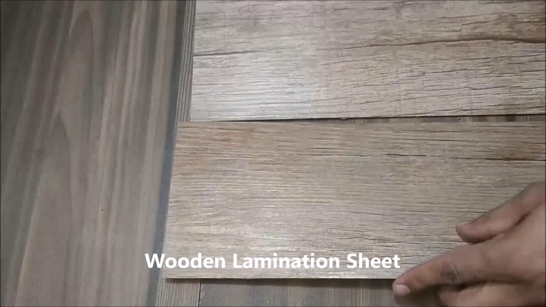 Use of Lamination Sheet
