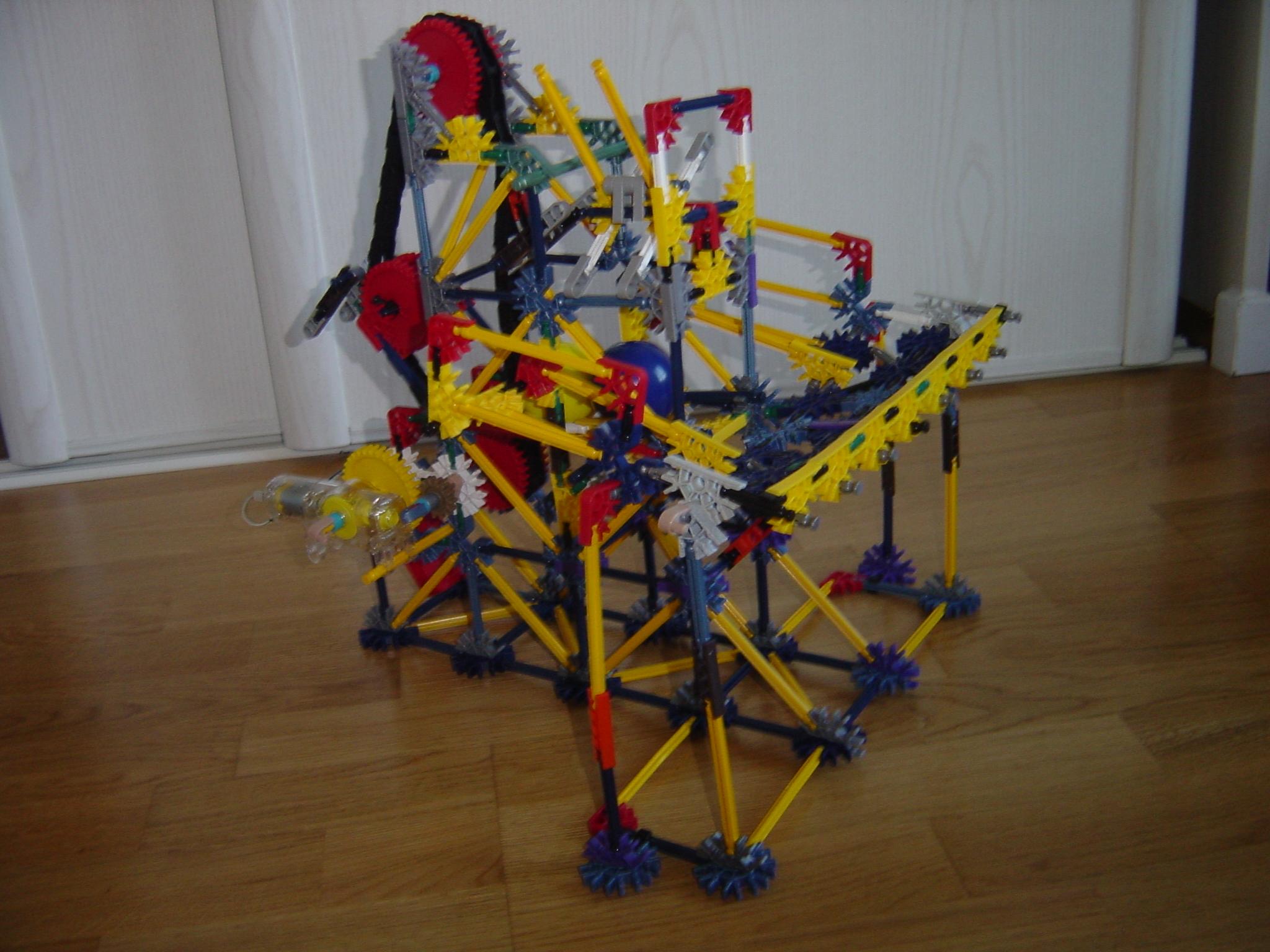 Project S (Knex Ball Machine)