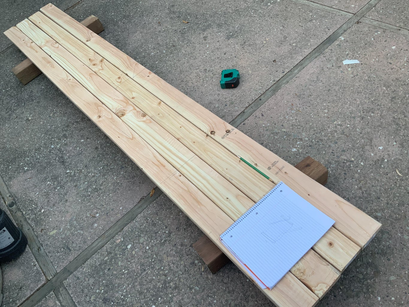 Cut the 2x4 to Size
