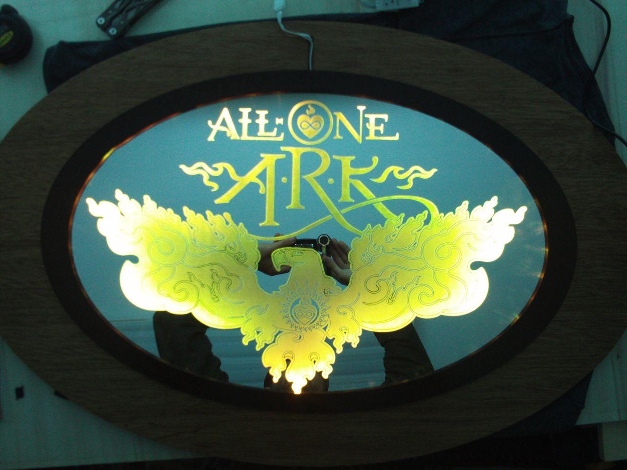 Create Your Own Illuminated Mirror Art