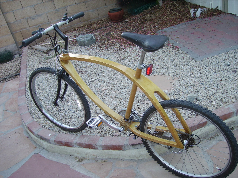 Bent Plywood Bicycle