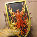 Phoenix Bird Wall Sculpture