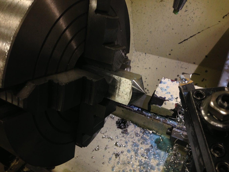 Cut the Bottom of the Dreidel