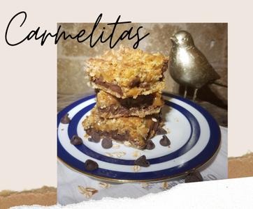 How to Make Carmelitas (a Crunchy, Chewy, Caramel & Chocolate Cookie Bar)