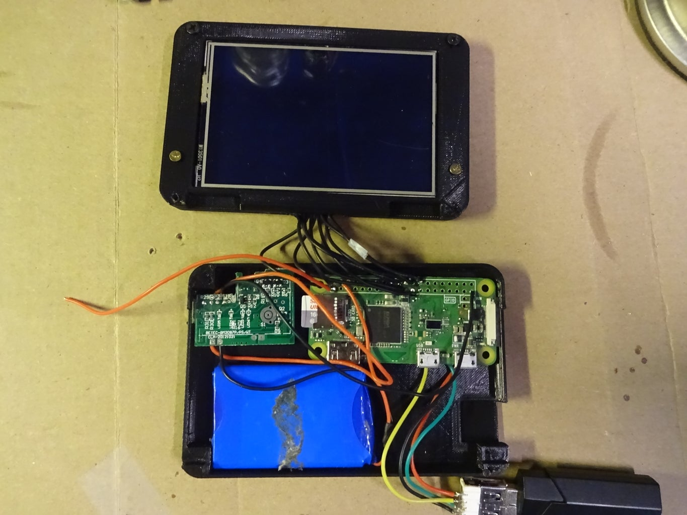 Solder the Screen to the Raspberry Pi