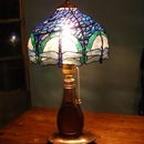 PET Bottle Tiffany Lamp