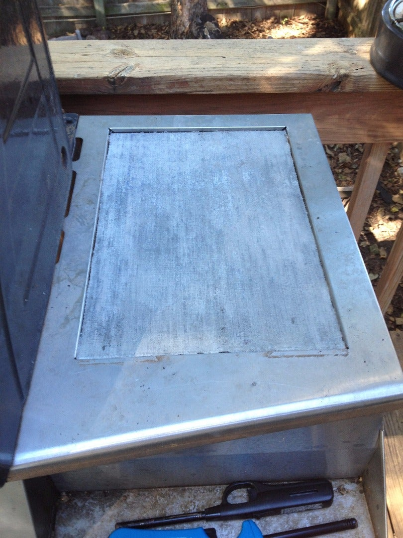 Measure the Hole and Cut the Concrete Backer Board to Fit