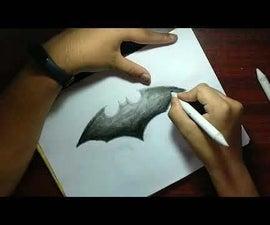 Batman Charcoal Art