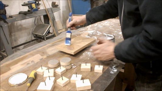 Apply a New Finish to the Components