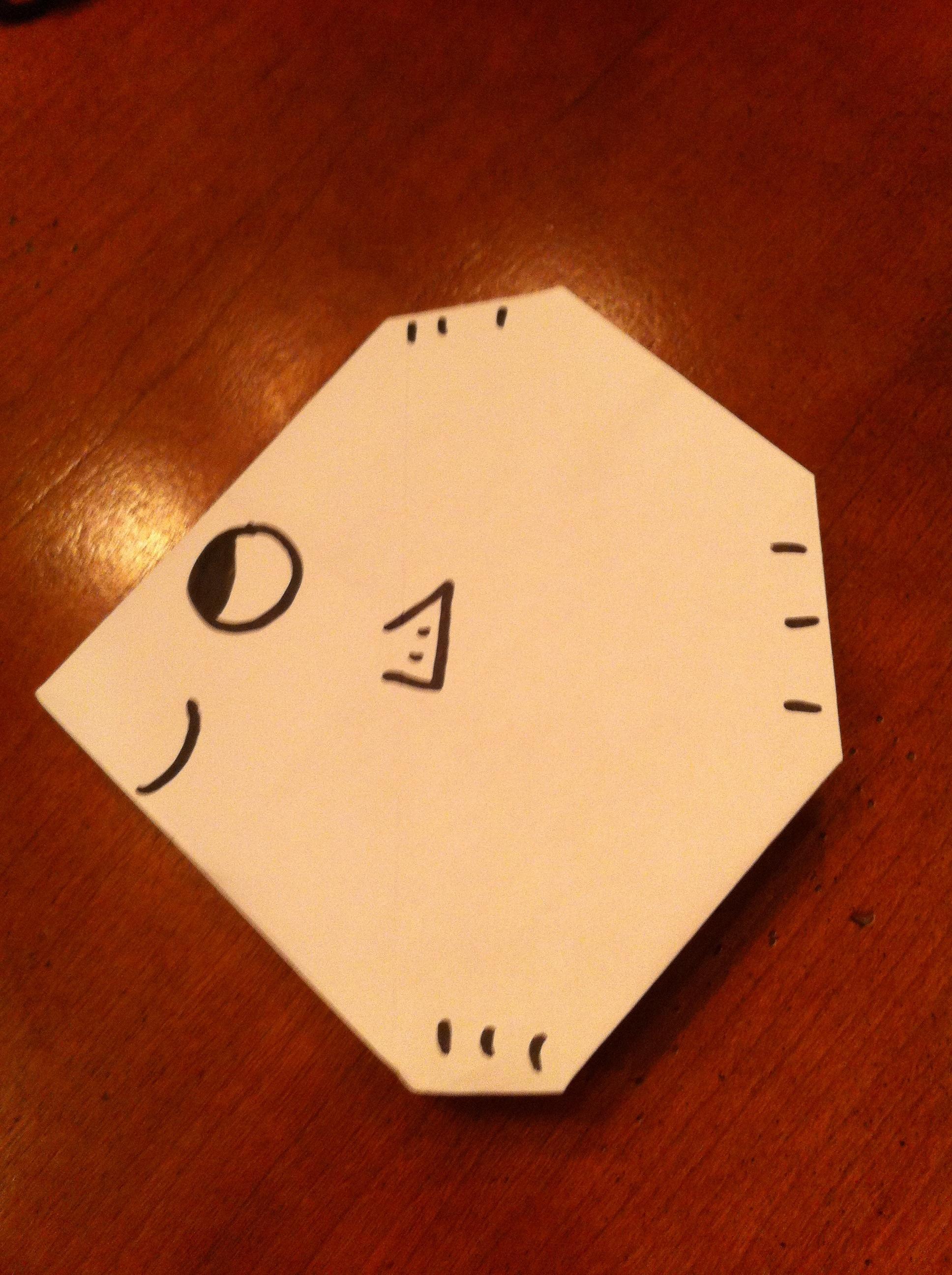Origami Fishy Or Diamond