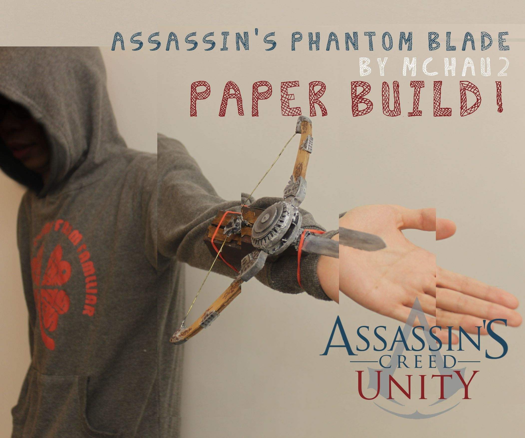ACUnity Phantom Blade the paper built