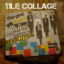 The Beatles Tile Collage