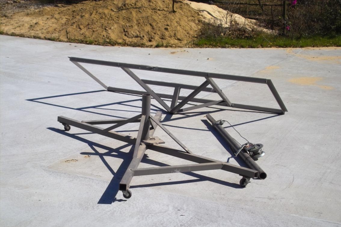 DIY Sheetrock Hoist for about $100