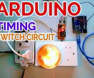 Arduino Timing Switch Circuit