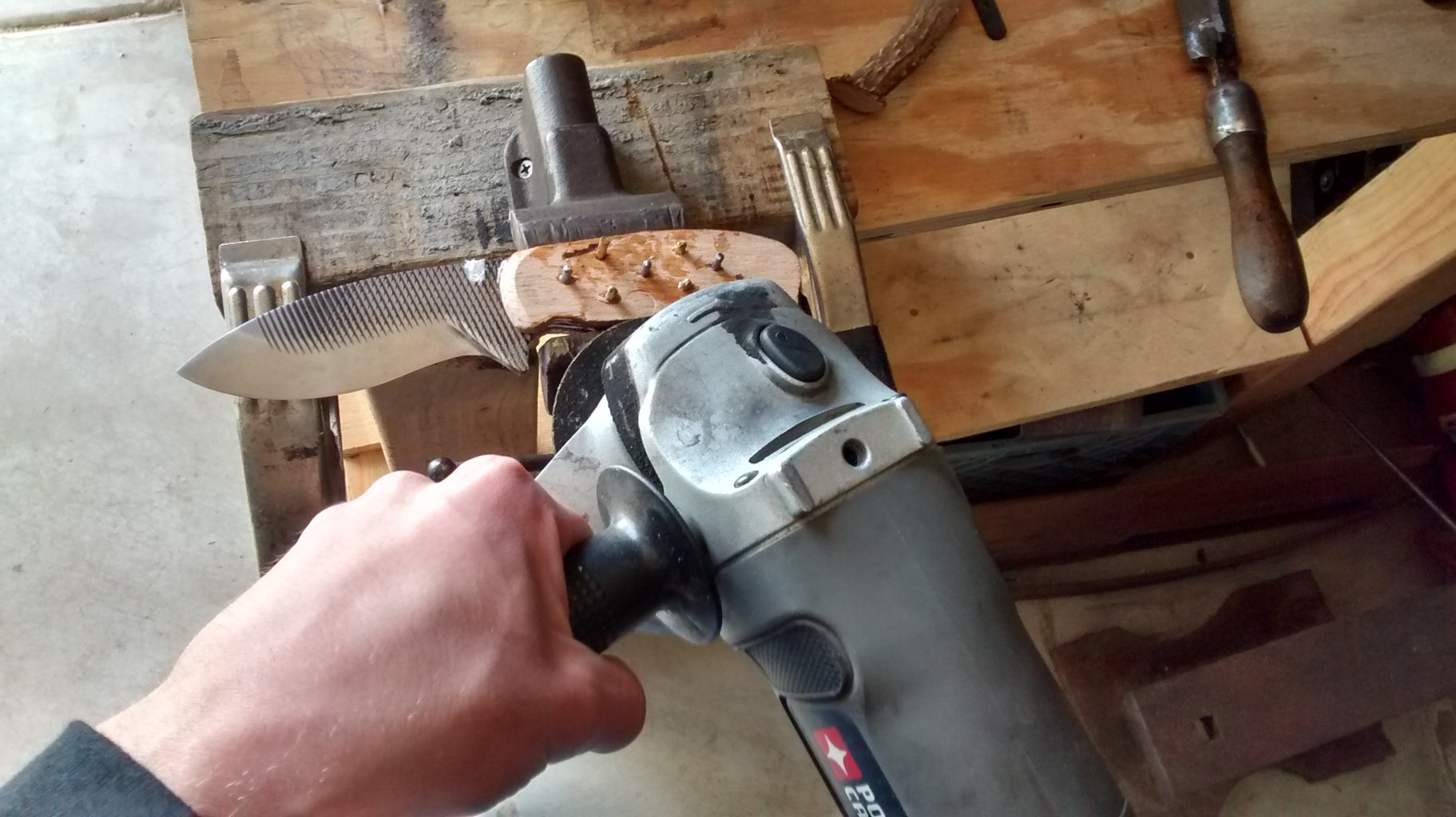 Remove Clamps and Cut Pins